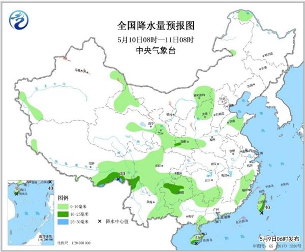 周末前全國降水縮減 東北華北等地氣溫再衝30℃