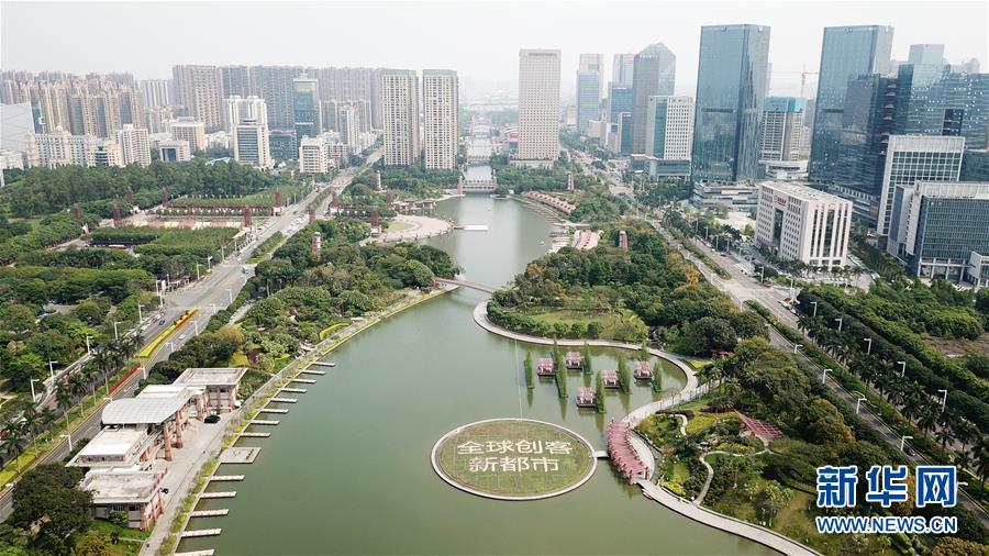 (在習近平新時代中國特色社會主義思想指引下——新時代新作為新篇章·圖文互動)(1)濕地就在城中央——珠三角重塑人與自然和諧共生圖景