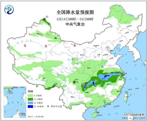 湖南等3省有暴雨 北方風雨沙套餐上線