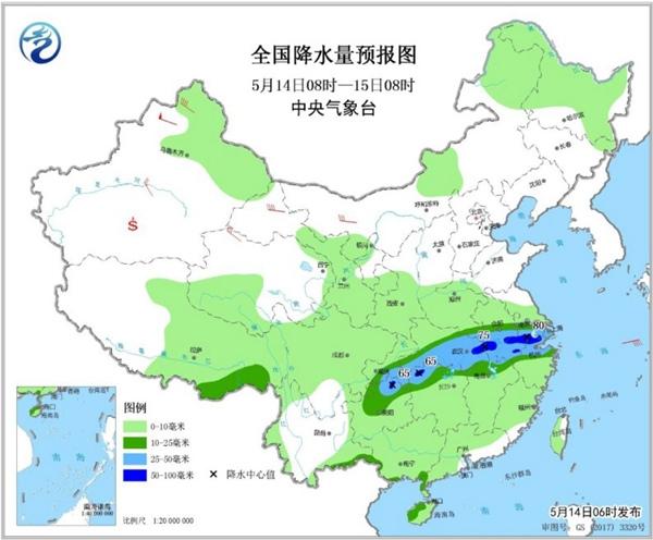 南方强降雨再起 华北黄淮气温将创新高