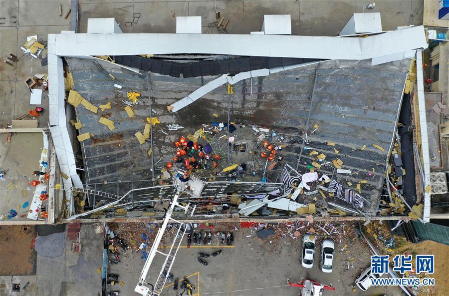 (突發事件)廣西百色一酒吧屋頂坍塌事故已搶救出85人