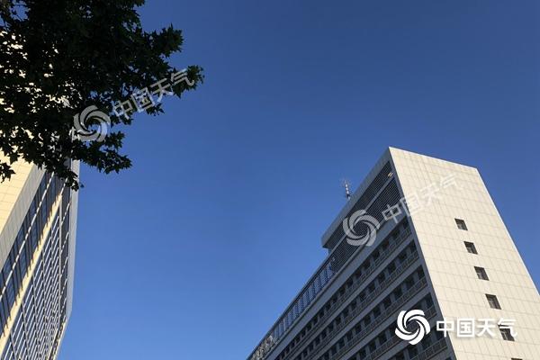 北京天氣晴曬陣風6級