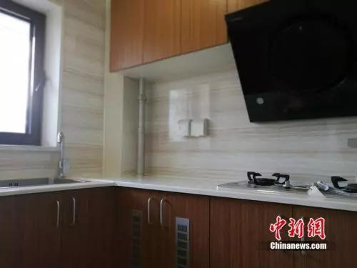 资料图:北京某出租房的厨房。<a target='_blank' href='http://www.chinanews.com/' _fcksavedurl='http://www.chinanews.com/' ><p  align=