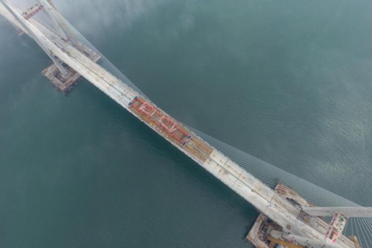 532米!中国大桥海上这一跨,创造世界纪录!