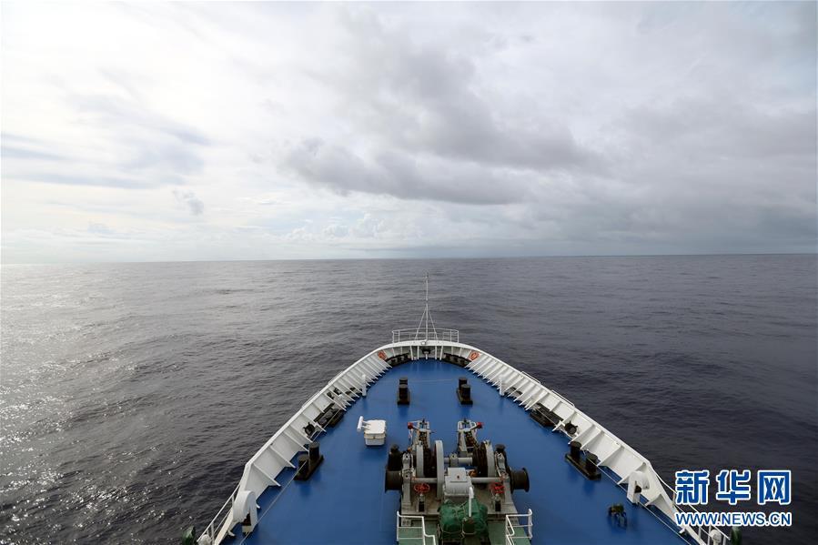 (图文互动)(2)远望3号远洋航天测量船加速驶向测控任务海域