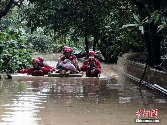 南方8省份持续强降雨已致88人死亡 直接经济损失201.3亿元