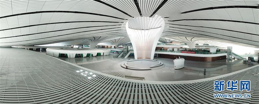 (图文互动)(4)凤凰展翅 北京新机场如期竣工
