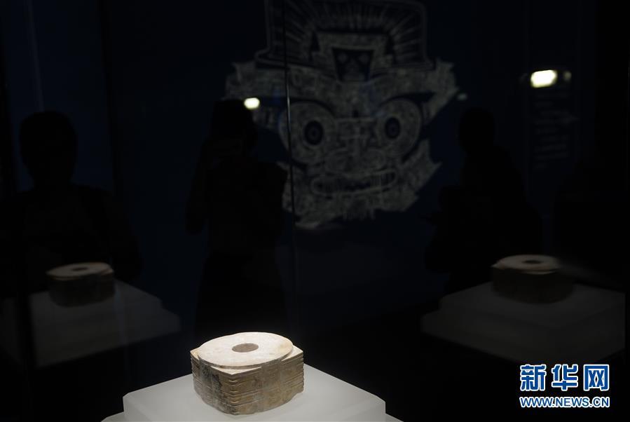 """(文化)(4)""""良渚與古代中國——玉器顯示的五千年文明""""展亮相故宮"""