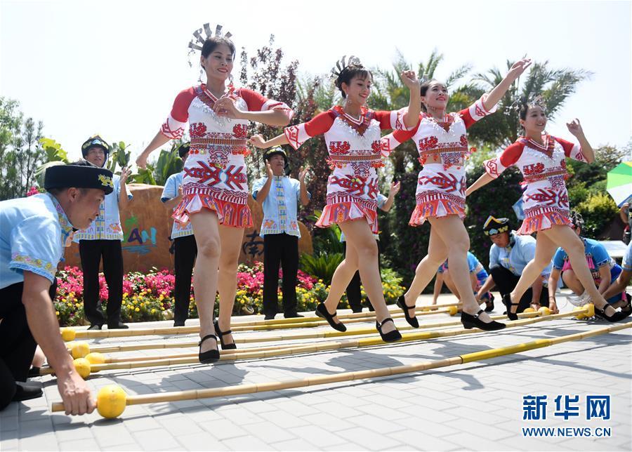"""(北京世園會)(1)北京世園會迎來""""海南日"""""""