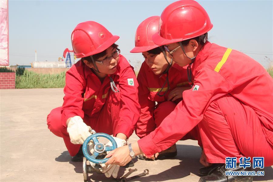 (爱国情 奋斗者·图文互动)(2)尤立红:我为祖国献石油