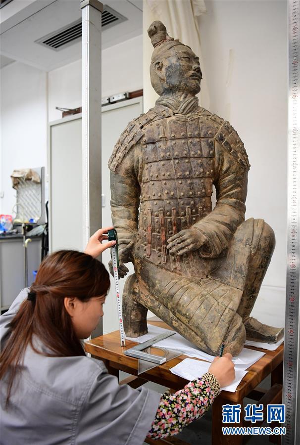 (新华调查·新中国考古重大发现·图文互动)(1)秦俑!秦俑!