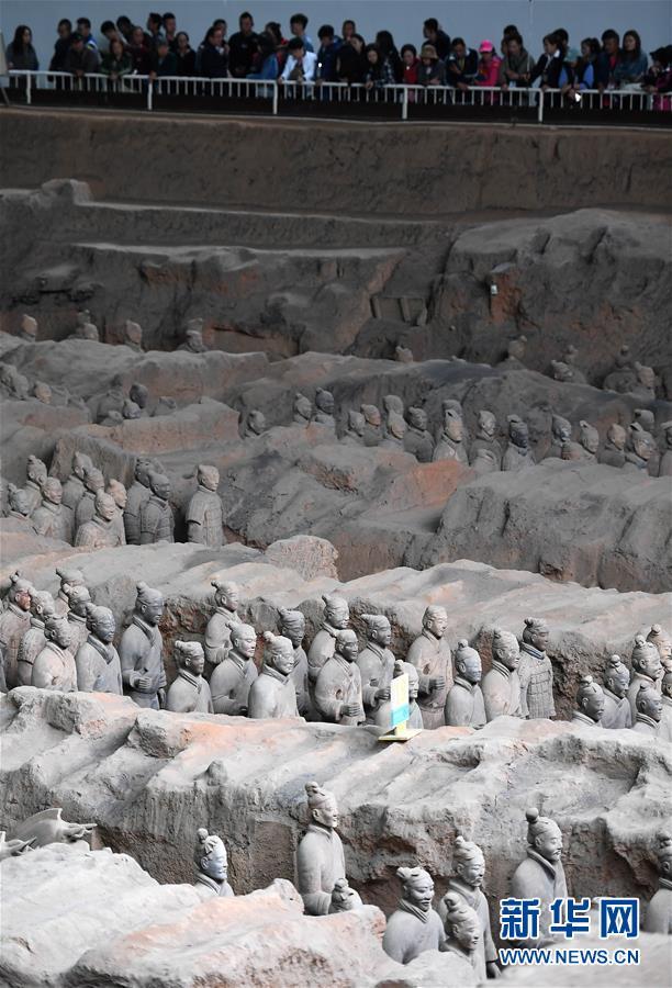(新华调查·新中国考古重大发现·图文互动)(5)秦俑!秦俑!