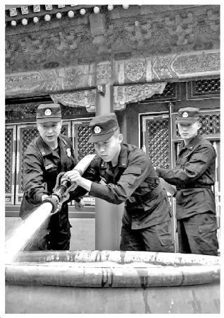故宫消防安全守护者:没有灭火战功是最大的褒奖