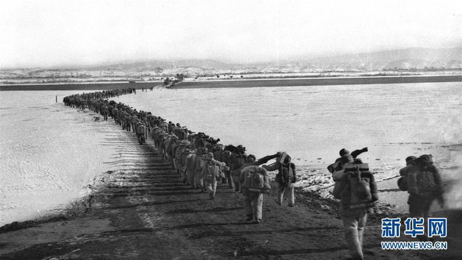 (壮丽70年·奋斗新时代——新中国峥嵘岁月·图文互动)(1)抗美援朝 保家卫国
