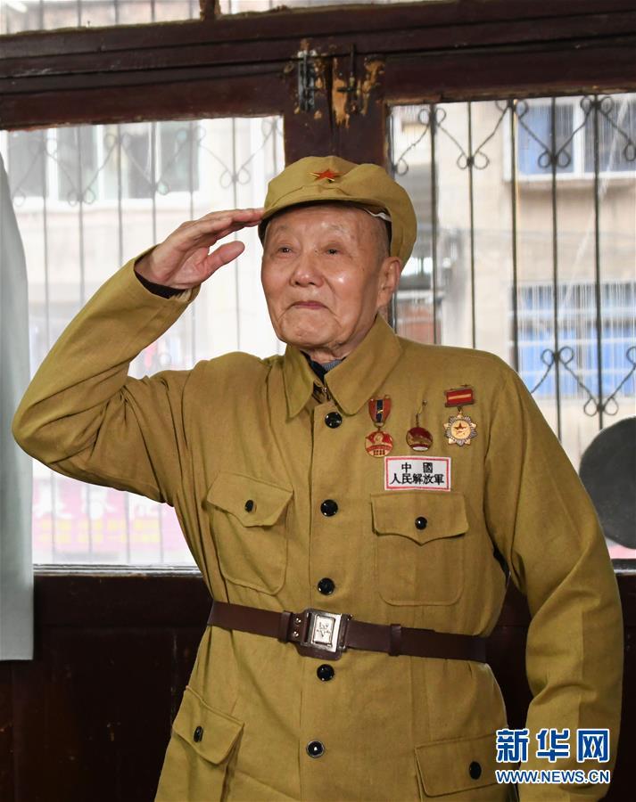 (壯麗70年·奮鬥新時代——共和國榮光)(1)張富清:緊跟黨走,做黨的好戰士