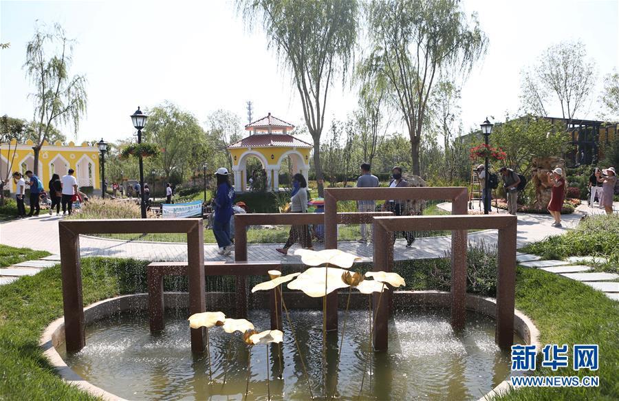 """(北京世園會)(6)北京世園會迎來""""澳門日"""""""