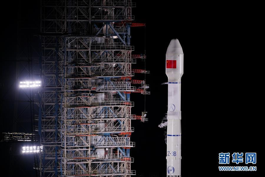 """(图文互动)(1)我国成功发射两颗北斗三号卫星 北斗系统""""一箭双星"""""""