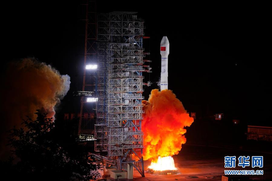"""(图文互动)(4)我国成功发射两颗北斗三号卫星 北斗系统""""一箭双星"""""""