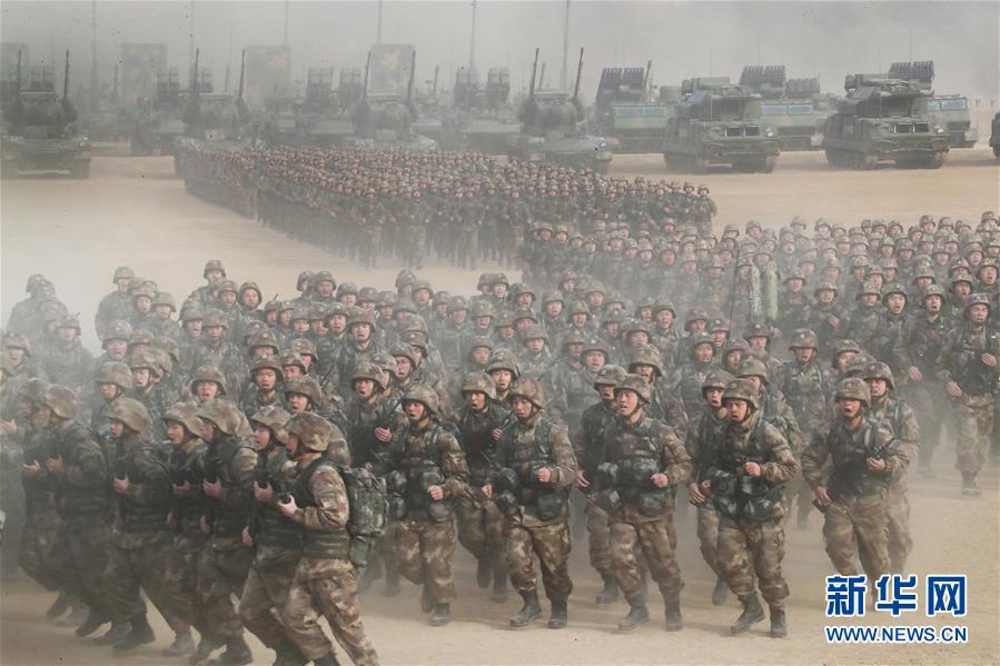 (自信中国·70年启示录·图文互动)(3)富国强军筑长城——从壮阔70年看中国强军