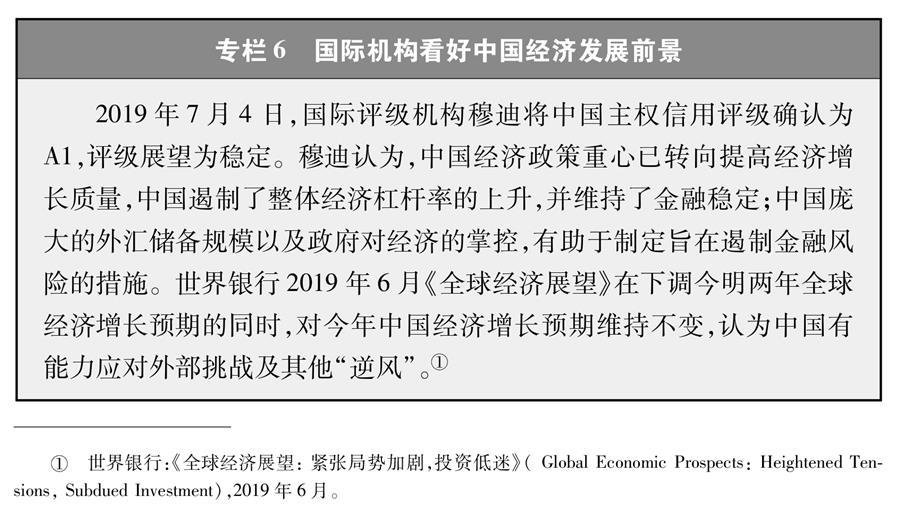 (图表)[新时代的中国与世界白皮书]专栏6 国际机构看好中国经济发展前景