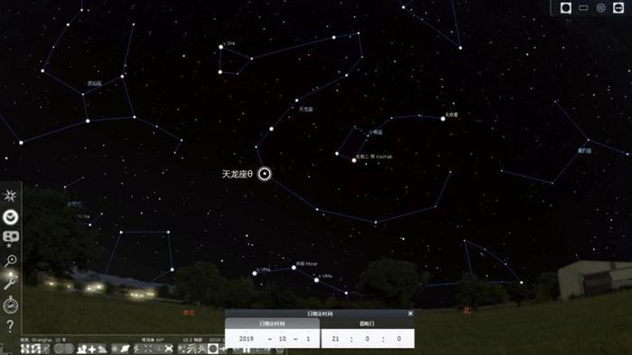 天文爱好者捕捉新中国成立时发出的星光