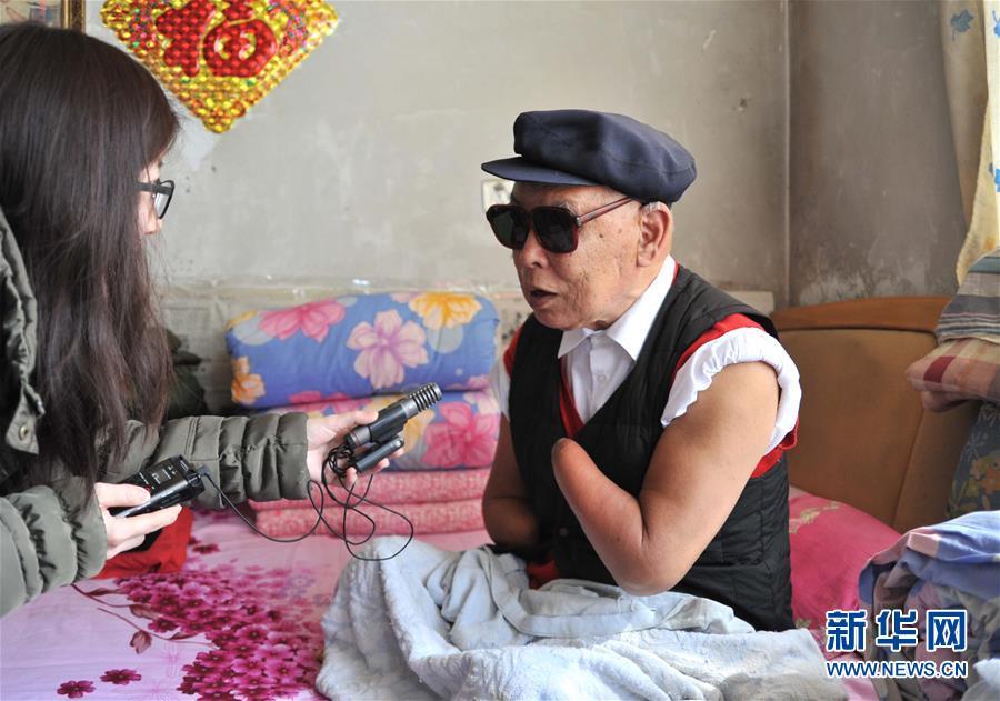 (壮丽70年·奋斗新时代——共和国荣光·图文互动)(2)朱彦夫:身残志坚敢担当 带领乡亲奔小康
