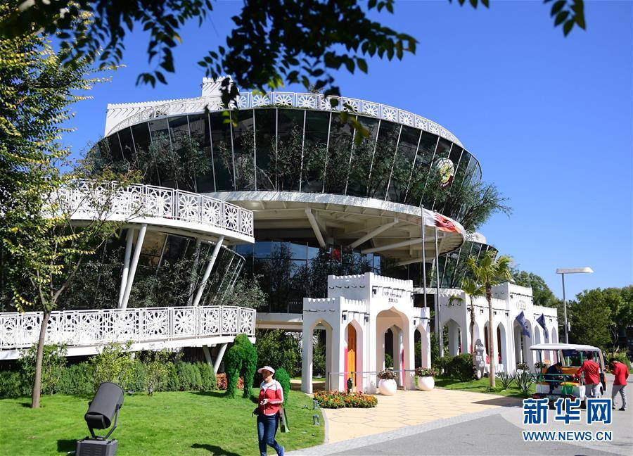 """(新华全媒头条·图文互动)(5)难忘的""""世园影象"""" 配合的绿色寻求——写在北京世园会落幕之际"""