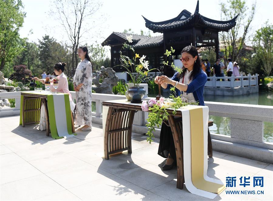 """(新华全媒头条·图文互动)(12)难忘的""""世园影象"""" 配合的绿色寻求——写在北京世园会落幕之际"""
