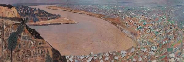 万里入胸怀 ――王克举百米油画长卷《黄河》创作纪事