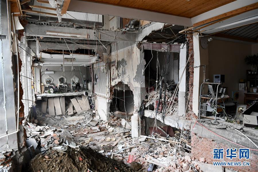 (新華網)(2)無錫錫山小吃店燃氣爆炸事故死亡人數上升至9人