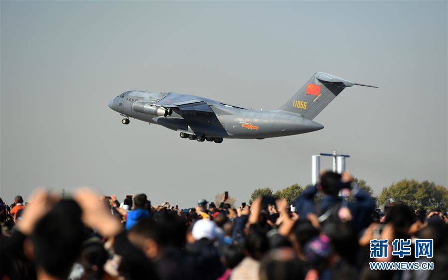 (军事)(19)空军以全盛阵容展翅长春庆祝成立70周年