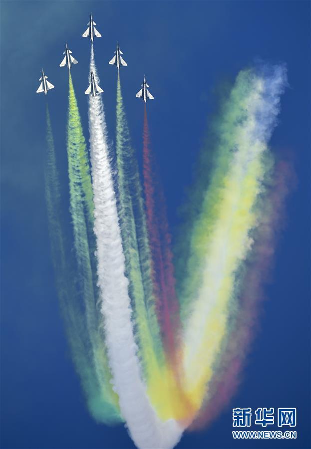 (军事)(2)空军以全盛阵容展翅长春庆祝成立70周年