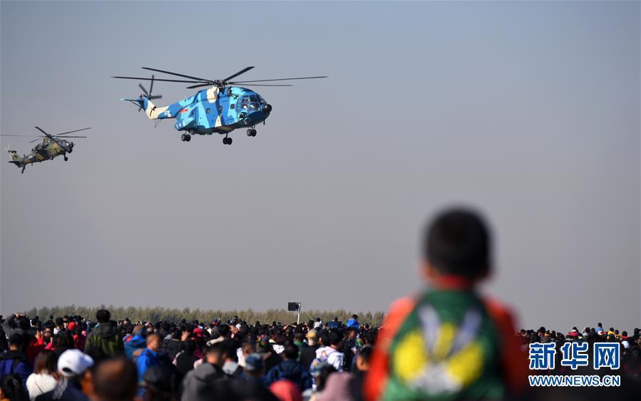 (军事)(14)空军以全盛阵容展翅长春庆祝成立70周年