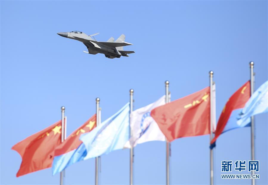 (军事)(10)空军以全盛阵容展翅长春庆祝成立70周年