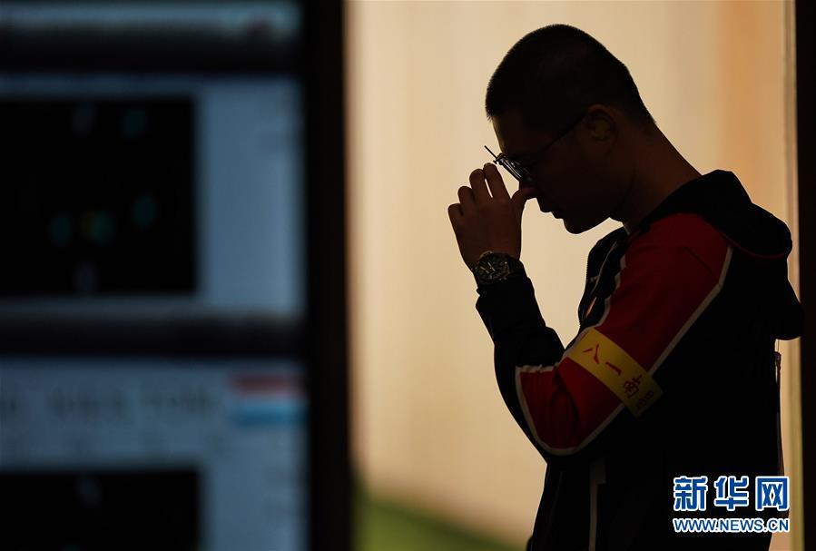 (軍運會)(8)射擊——中國代表團首金產生