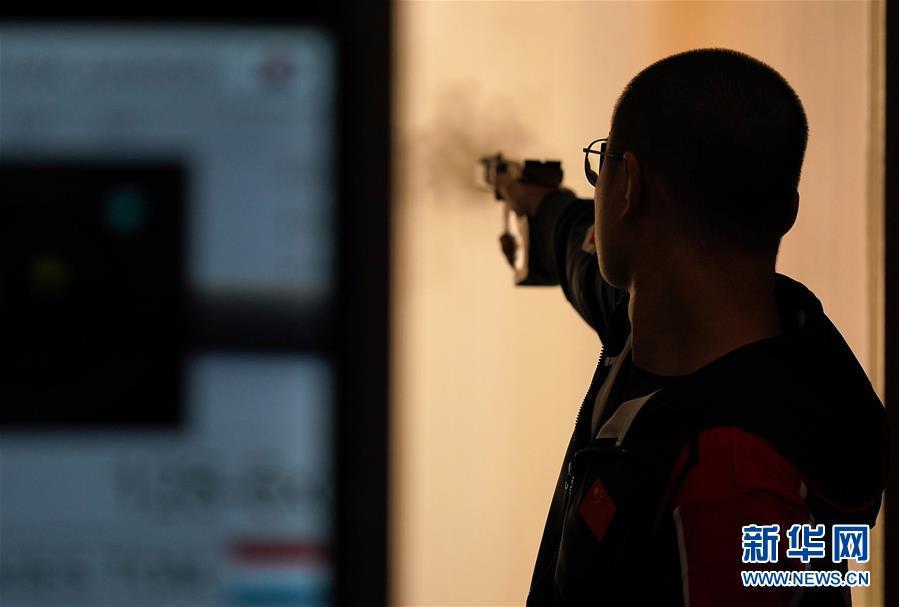 (軍運會)(9)射擊——中國代表團首金產生