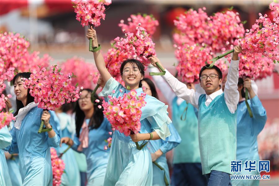 (新華全媒頭條·圖文互動)(6)凝聚愛國主義的磅薄力量!——新中國成立70周年盛典啟示錄
