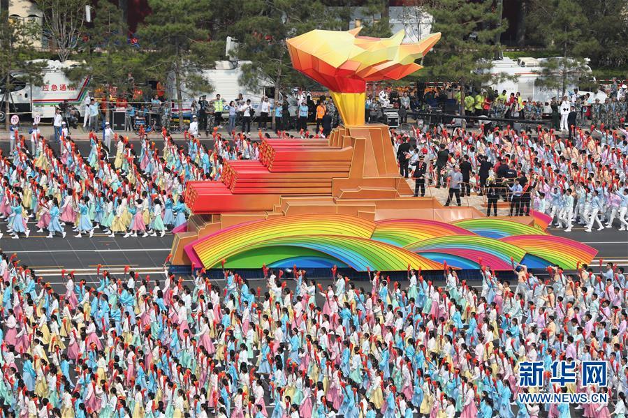 (新華全媒頭條·圖文互動)(11)凝聚愛國主義的磅薄力量!——新中國成立70周年盛典啟示錄
