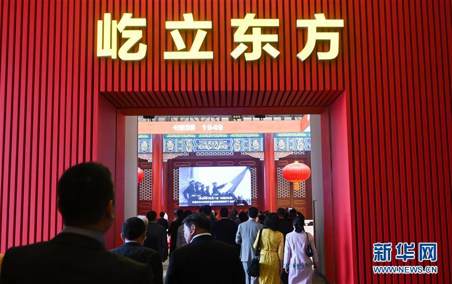 (新華全媒頭條·圖文互動)(18)凝聚愛國主義的磅薄力量!——新中國成立70周年盛典啟示錄
