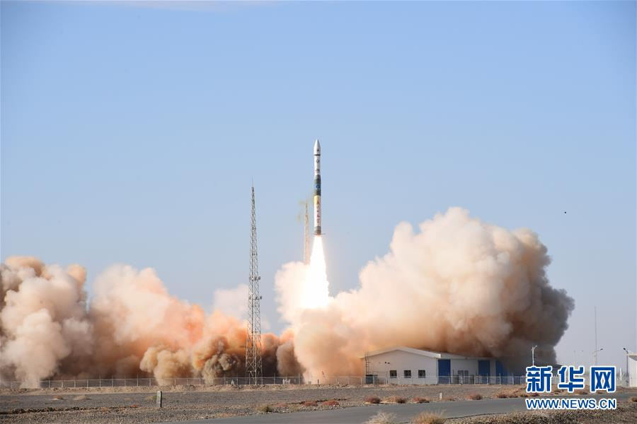 """我国自主研发商用遥感卫星星座""""吉林一号""""高分02A星发射升空,并进入预定轨道"""