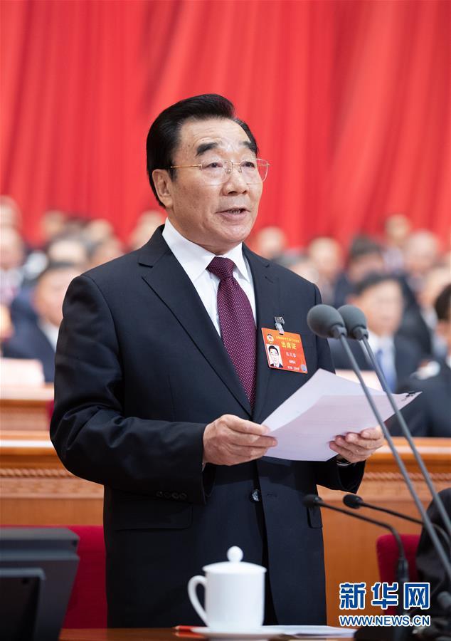 (两会·政协开幕)(3)全国政协十三届二次会议在京开幕