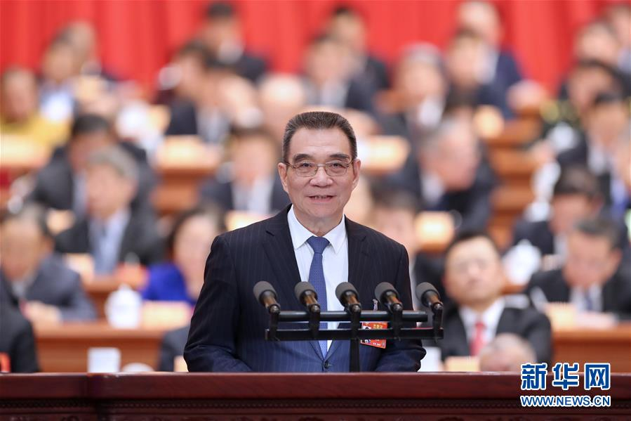 (两会·XHDW)(2)全国政协十三届二次会议第二次全体会议大会发言