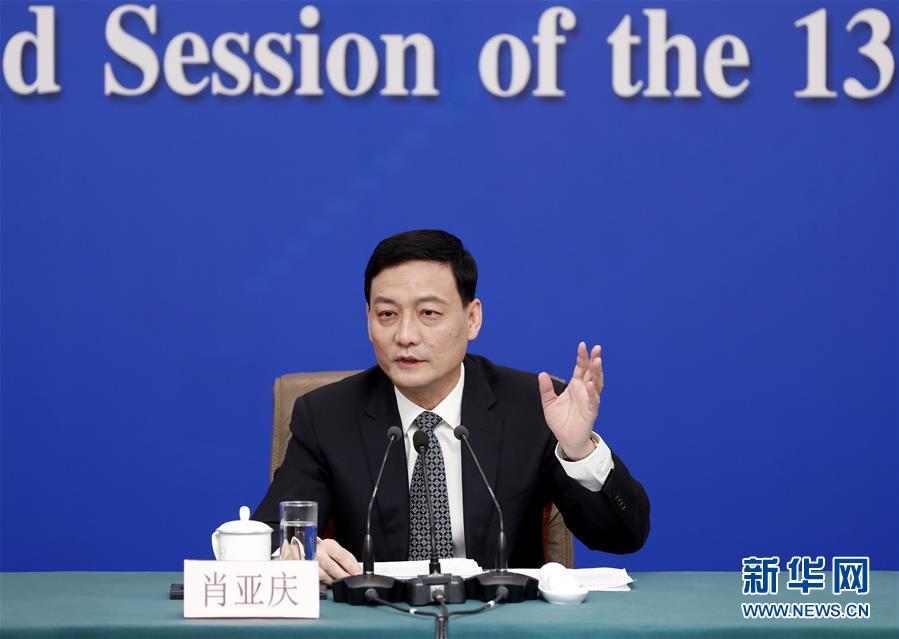 """(兩會·XHDW)(3)國資委主任肖亞慶等就""""國有企業改革發展""""答記者問"""