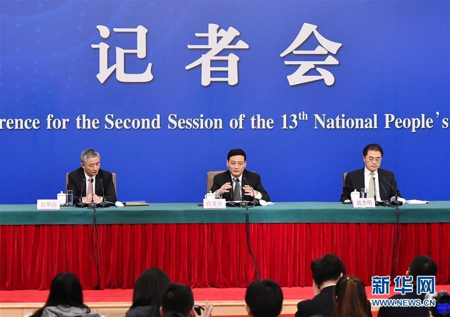 """(兩會·XHDW)(8)國資委主任肖亞慶等就""""國有企業改革發展""""答記者問"""