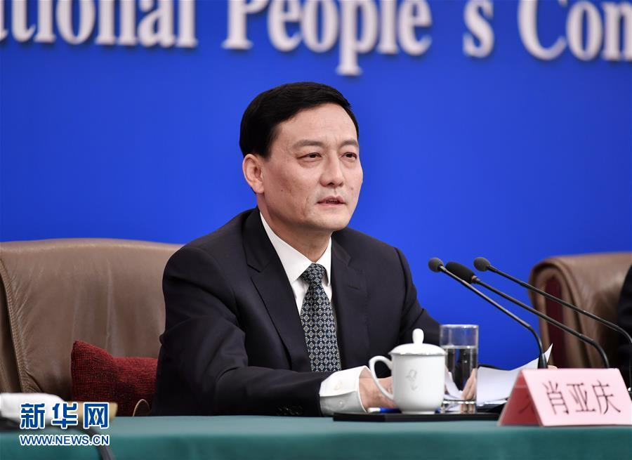 """(兩會·XHDW)(11)國資委主任肖亞慶等就""""國有企業改革發展""""答記者問"""