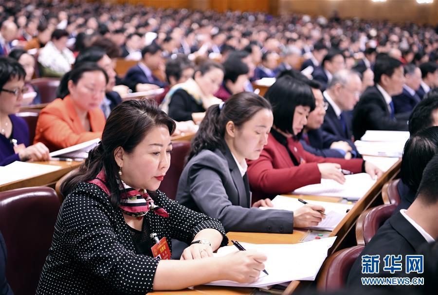 (新华全媒头条·图文互动)(5)2019——春天里的中国两会故事