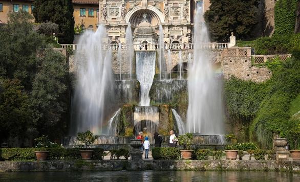 世界园林巡礼——意大利埃斯特庄园