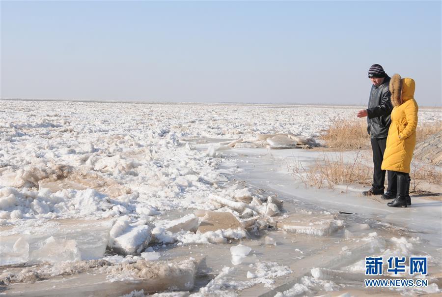 (圖文互動)(3)千裏冰封 黃河內蒙古段持續封河