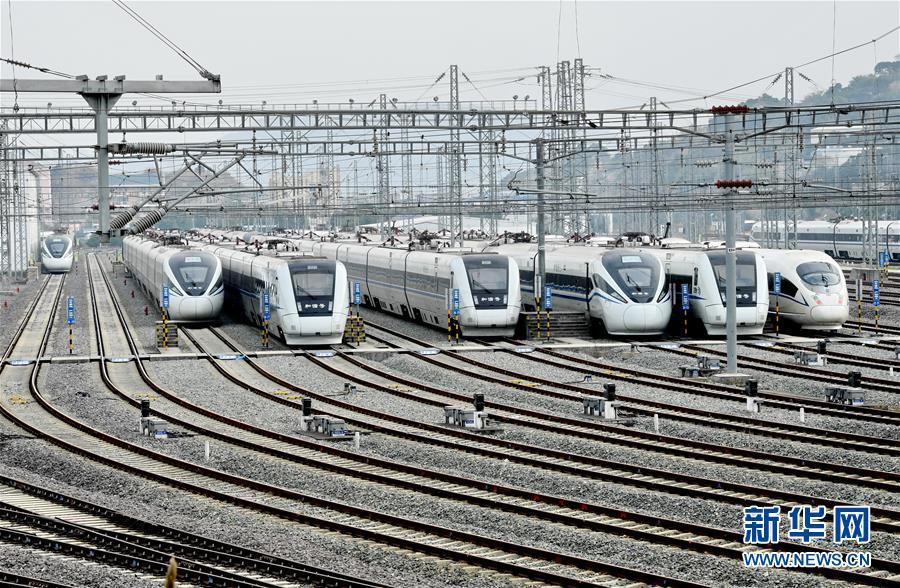 (新春走基層)(1)福建鐵路部門:保安全  迎春運