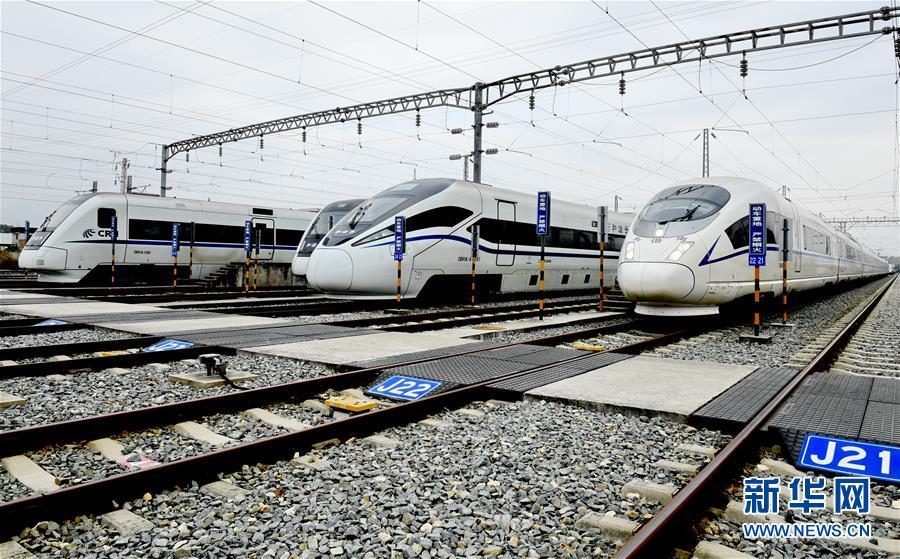 (新春走基層)(2)福建鐵路部門:保安全  迎春運